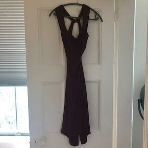 Reformation Midi Dress Red, Size S